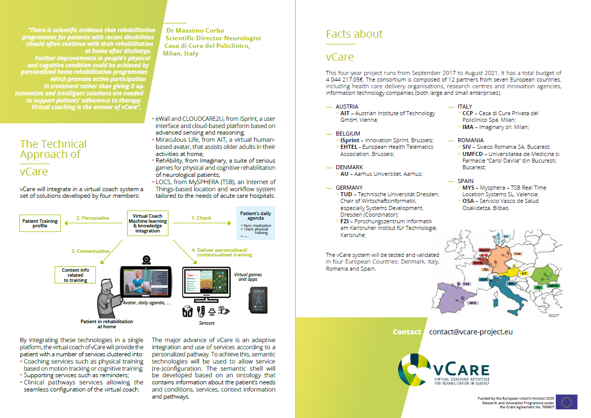 Flyer of the project